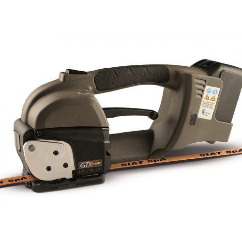 SIAT akkumulátoros pántológép PP és PET szalaghoz (GT-H19)