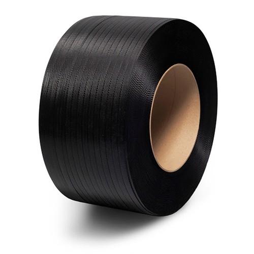 PP Pántszalag fekete 16 mm