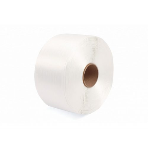 Poliészter (Hot-melt) pántszalag fehér 16 mm/850 m