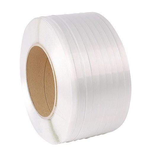 Poliészter pántszalag fehér 13 mm/1100 m UV álló