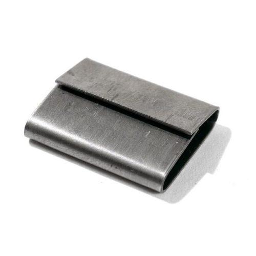 Pánthüvely acél szalaghoz 16x27 nyitott