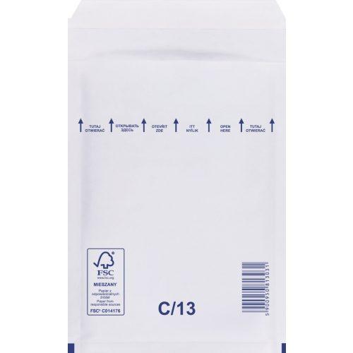 Légpárnás boríték 13 Fehér 170x225