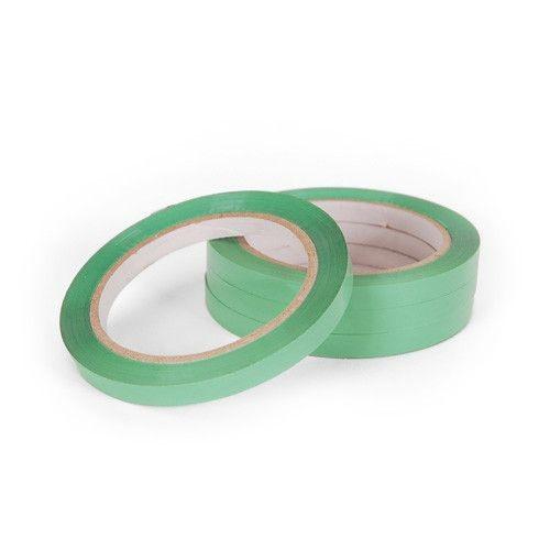Zacskózáró, Tasakzáró  szalag 12mmx66m Zöld