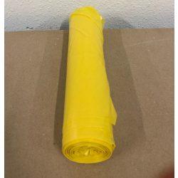 Szemetes zsák SÁRGA 70 x 110 / 30 mikron (kuka zsák)